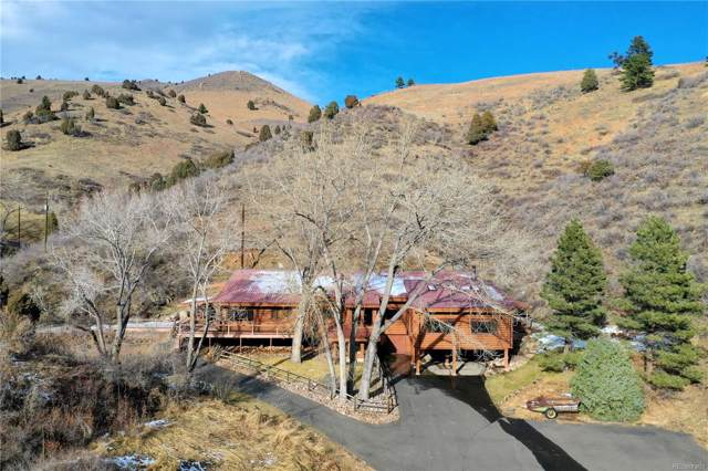 22001 Golden Gate Canyon Road, Golden, CO 80403 (#2539550) :: The Peak Properties Group