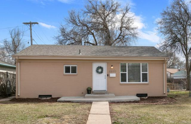4850 W Virginia Avenue, Denver, CO 80219 (#2541574) :: The Dixon Group