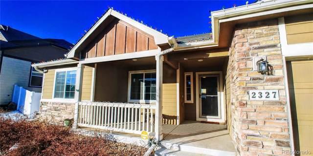 2327 74th Avenue, Greeley, CO 80634 (MLS #2542978) :: Colorado Real Estate : The Space Agency