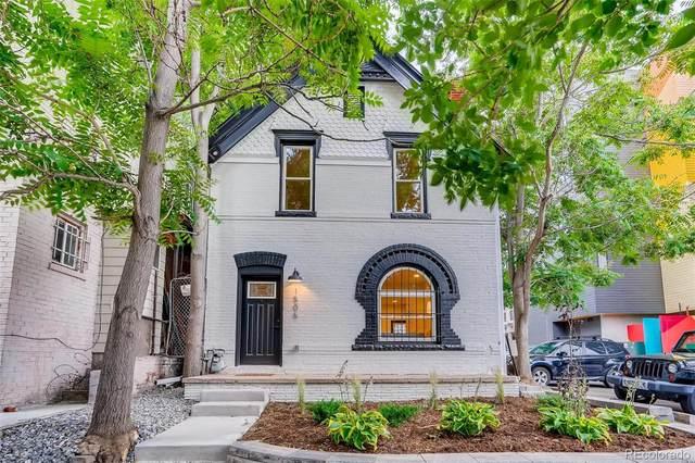 1506 E 16th Avenue, Denver, CO 80218 (#2543444) :: Mile High Luxury Real Estate