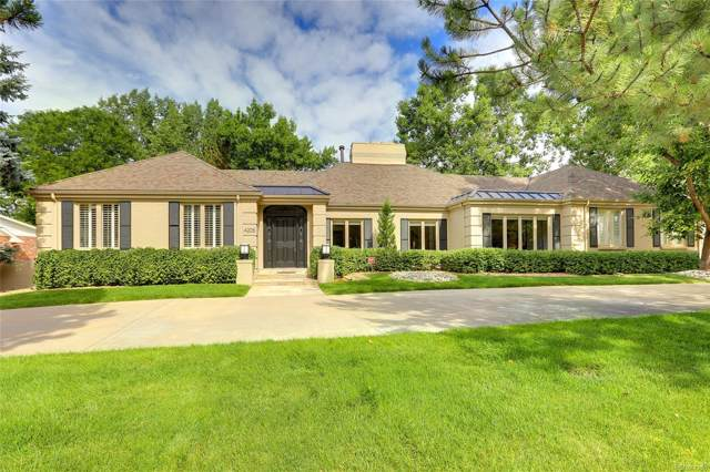 4205 S Bellaire Circle, Cherry Hills Village, CO 80113 (MLS #2544082) :: 8z Real Estate