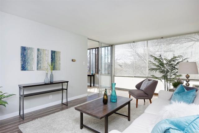 1050 N Corona Street #209, Denver, CO 80218 (#2549051) :: The Peak Properties Group