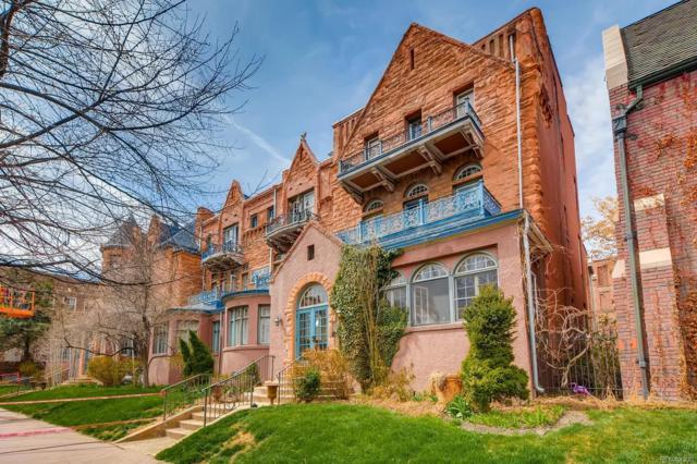 1441 N Pennsylvania Street #16, Denver, CO 80203 (MLS #2554976) :: 8z Real Estate