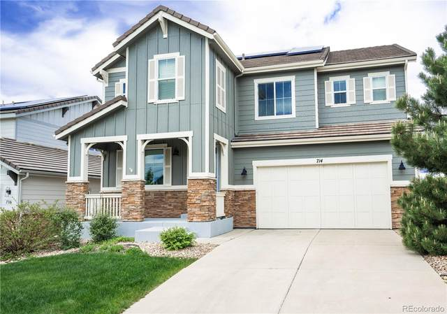 714 Tiger Lily Way, Highlands Ranch, CO 80126 (#2559490) :: Wisdom Real Estate