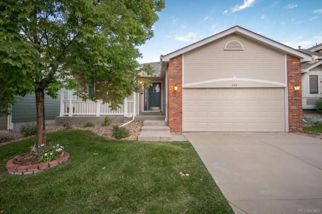 355 Kingbird Circle, Highlands Ranch, CO 80129 (#2561462) :: The Peak Properties Group