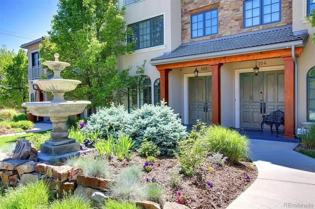 301 Harrison Street #103, Denver, CO 80206 (MLS #2564841) :: Bliss Realty Group
