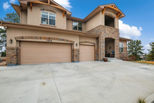 11908 S Longs Bluff Lane, Parker, CO 80134 (#2566060) :: The Peak Properties Group
