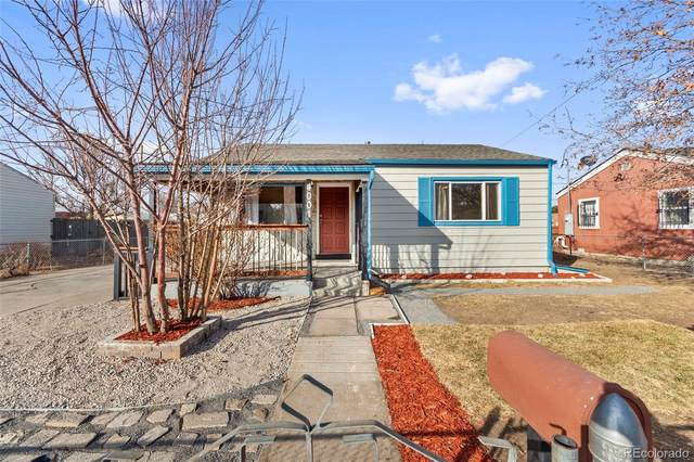 4001 W Walsh Place, Denver, CO 80219 (#2567909) :: The Griffith Home Team