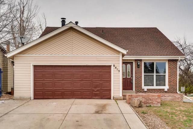 8413 W 79th Court, Arvada, CO 80005 (#2569696) :: The HomeSmiths Team - Keller Williams