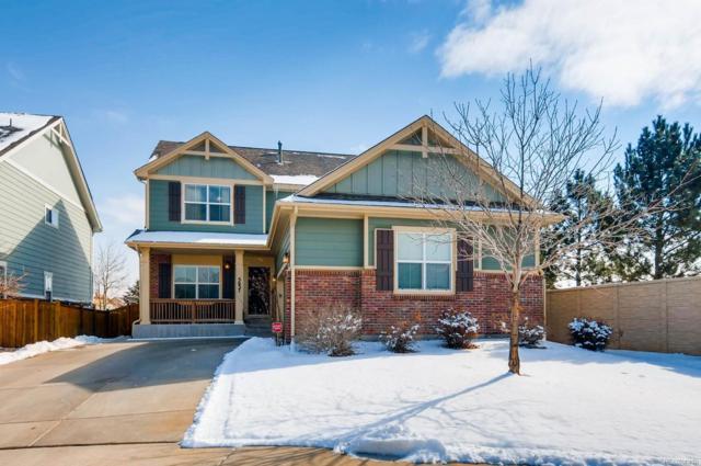 5637 S Buchanan Street, Aurora, CO 80016 (#2571368) :: The Peak Properties Group