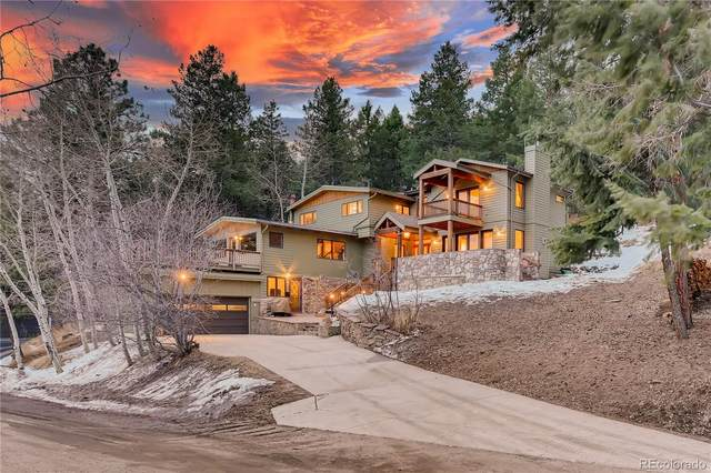 25808 Sunrise Lane, Golden, CO 80401 (MLS #2571705) :: Wheelhouse Realty