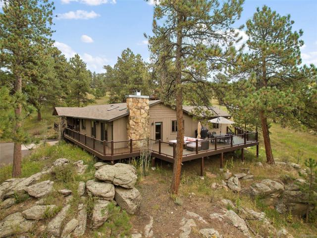 7673 Gartner Road, Evergreen, CO 80439 (#2571771) :: The Peak Properties Group