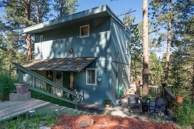 27546 Mountain Park Road, Evergreen, CO 80439 (#2572433) :: You 1st Realty