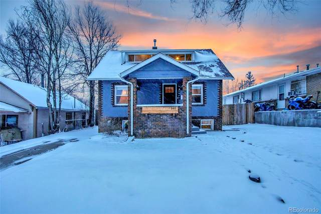 140 S Hazel Court, Denver, CO 80219 (#2572584) :: The Harling Team @ HomeSmart