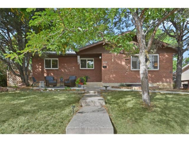 345 Colgate Street, Boulder, CO 80305 (#2573566) :: The Galo Garrido Group