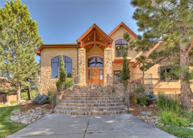 9135 Scenic Pine Drive, Parker, CO 80134 (#2577426) :: The HomeSmiths Team - Keller Williams