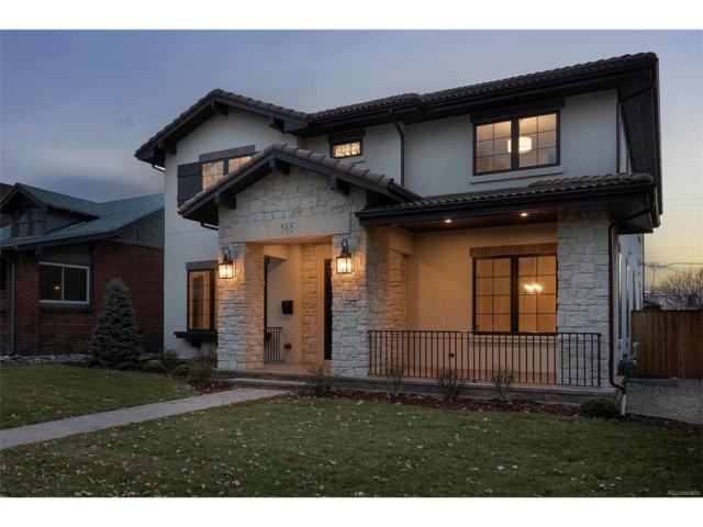 565 S Corona Street, Denver, CO 80209 (MLS #2580279) :: 8z Real Estate