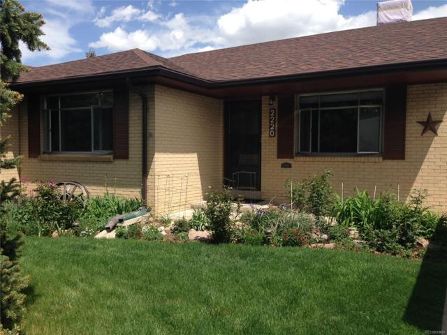 2220 S Cherry Street, Denver, CO 80222 (#2581908) :: The Pete Cook Home Group