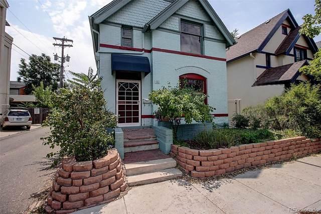 420 E 1st Avenue, Denver, CO 80203 (#2585062) :: The DeGrood Team