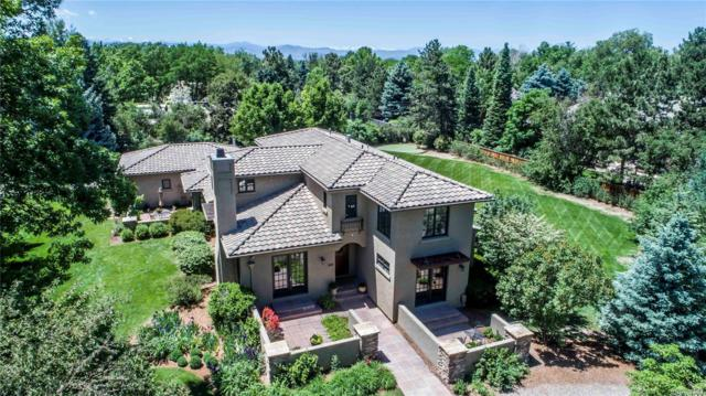 4825 S Lafayette Lane, Cherry Hills Village, CO 80113 (#2589797) :: The City and Mountains Group