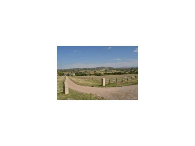 lot 22 Sly Fox Way, Sedalia, CO 80135 (MLS #2595478) :: 8z Real Estate