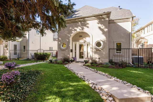 251 S Garfield Street F, Denver, CO 80209 (#2602973) :: The Peak Properties Group