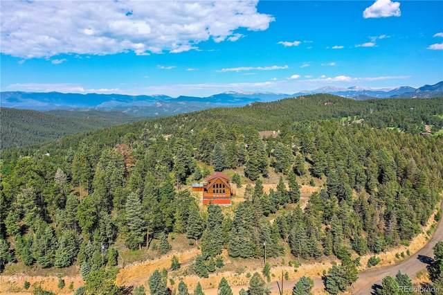 25323 Shiloh Circle, Conifer, CO 80433 (#2602997) :: Finch & Gable Real Estate Co.