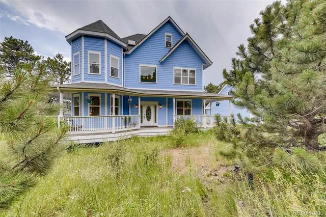 25876 Stansbery Street, Conifer, CO 80433 (#2605402) :: Finch & Gable Real Estate Co.