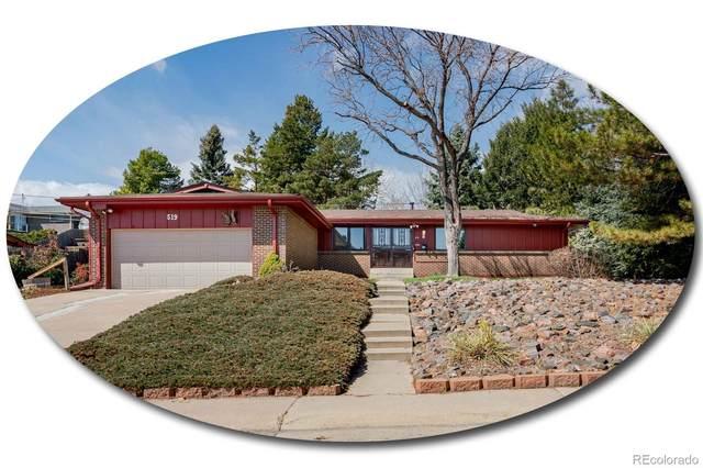 519 S Alkire Street, Lakewood, CO 80228 (#2605950) :: The Peak Properties Group