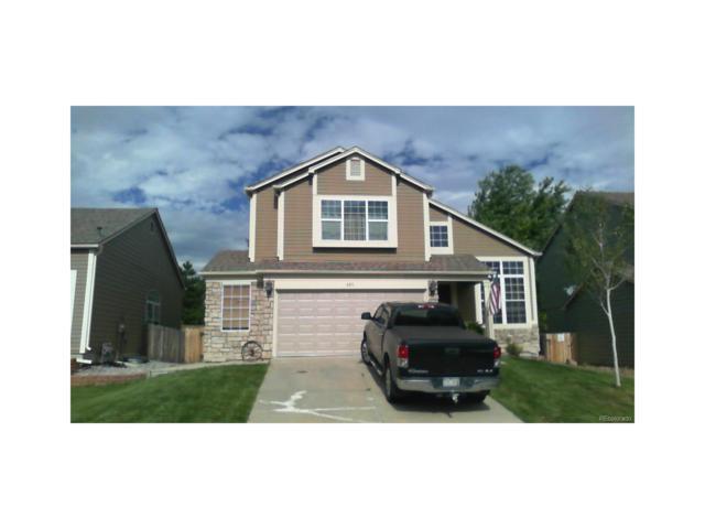 885 S Lindsey Street, Castle Rock, CO 80104 (MLS #2608991) :: 8z Real Estate