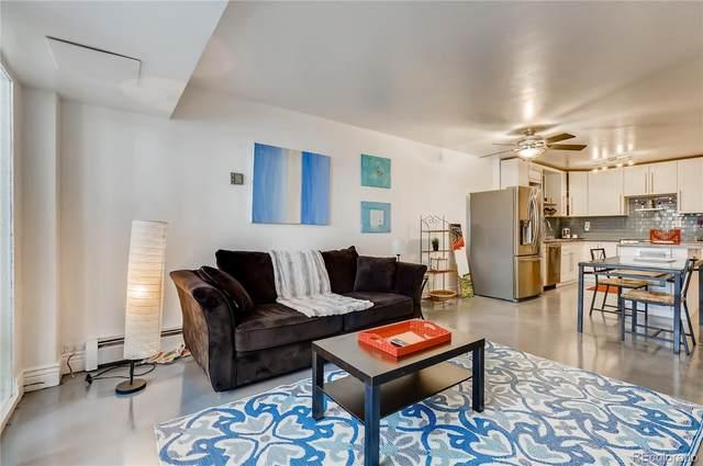 1121 Albion Street #210, Denver, CO 80220 (#2610690) :: Finch & Gable Real Estate Co.