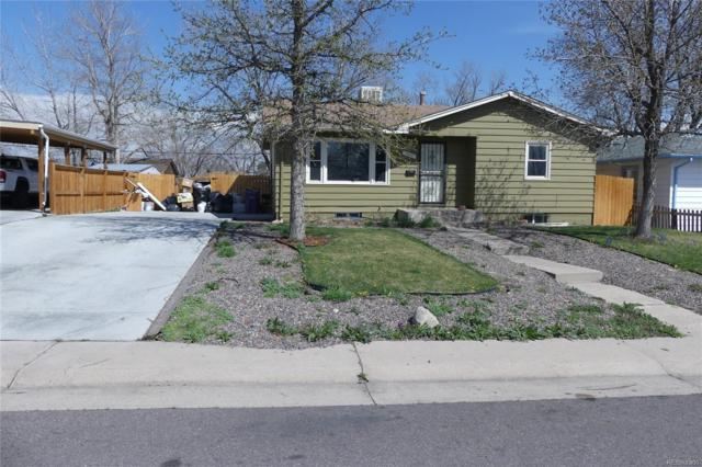 1580 S Perry Street, Denver, CO 80219 (#2611856) :: The Galo Garrido Group