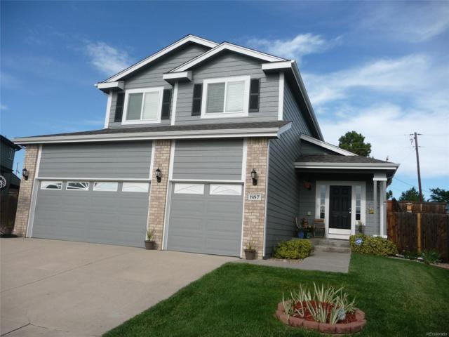 887 Bartlett Street, Castle Rock, CO 80104 (#2617270) :: The Peak Properties Group