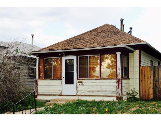4376 Yates Street, Denver, CO 80212 (#2620381) :: The Peak Properties Group