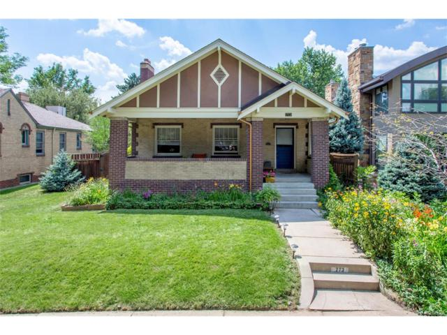 773 Clayton Street, Denver, CO 80206 (#2621236) :: Thrive Real Estate Group