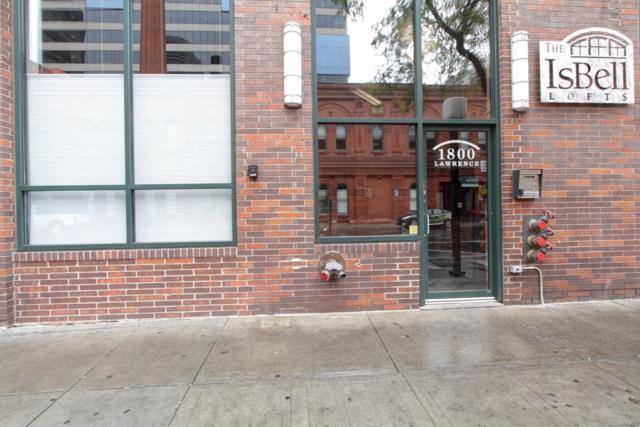 1800 Lawrence Street #103, Denver, CO 80202 (MLS #2621699) :: 8z Real Estate
