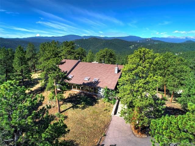 2808 Quartz Ridge Road, Evergreen, CO 80439 (#2627757) :: Own-Sweethome Team