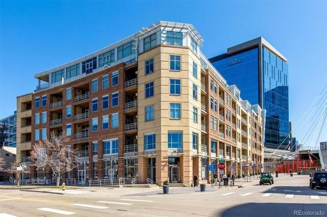 1610 Little Raven Street #203, Denver, CO 80202 (MLS #2628262) :: Kittle Real Estate