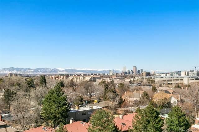 3131 E Alameda Avenue #802, Denver, CO 80209 (#2628444) :: Briggs American Properties