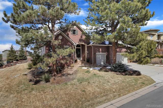 20125 E Shady Ridge Road, Parker, CO 80134 (#2632615) :: My Home Team