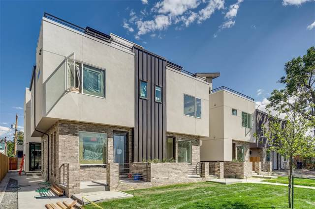 1370 Yates Street #3, Denver, CO 80204 (#2632661) :: The Healey Group