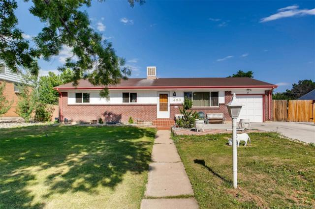 453 Salem Street, Aurora, CO 80011 (#2633077) :: The HomeSmiths Team - Keller Williams
