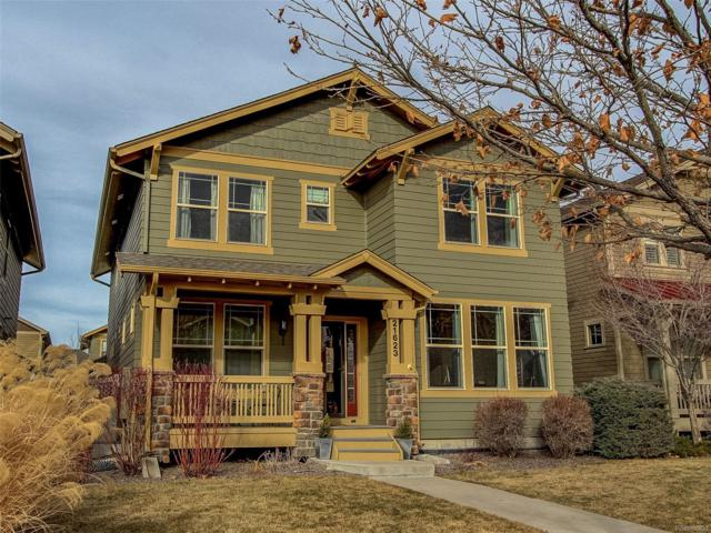 21623 E Tallkid Avenue, Parker, CO 80138 (#2635629) :: The Peak Properties Group