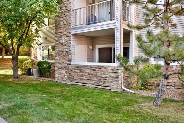 5575 W 76th Avenue #104, Arvada, CO 80003 (MLS #2642782) :: 8z Real Estate