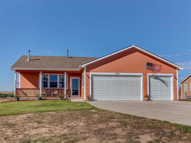 1495 4th Avenue, Deer Trail, CO 80105 (MLS #2644590) :: 8z Real Estate