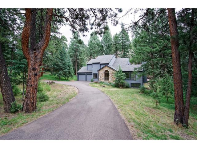 3774 Valley Drive, Evergreen, CO 80439 (MLS #2645893) :: 8z Real Estate
