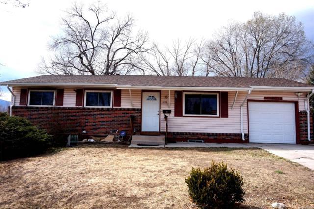 1150 Rainier Drive, Colorado Springs, CO 80910 (#2645962) :: The Pete Cook Home Group