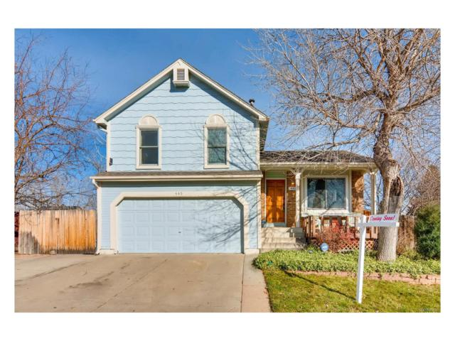 445 Chestnut Way, Broomfield, CO 80020 (#2653450) :: The Galo Garrido Group