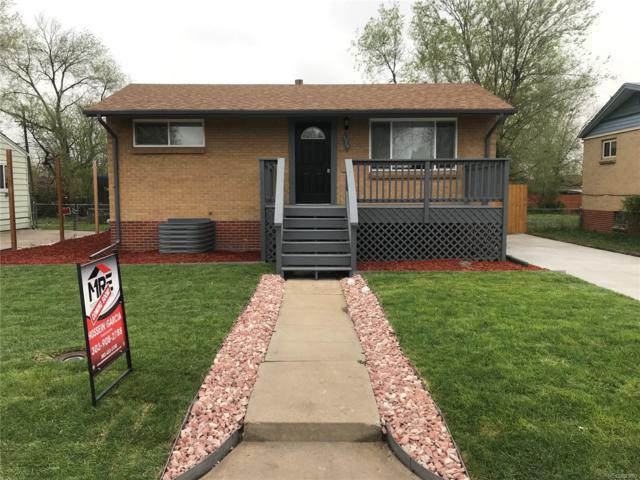 1270 S Knox Court, Denver, CO 80219 (#2653679) :: Wisdom Real Estate