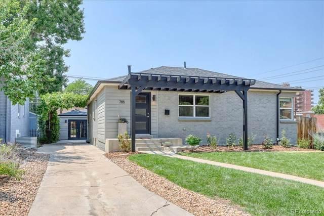 785 Dexter, Denver, CO 80220 (#2660800) :: Bring Home Denver with Keller Williams Downtown Realty LLC